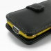 Samsung Galaxy Beam Leather Flip Cover (Black) handmade leather case by PDair