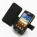 Samsung Galaxy Beam Leather Flip Cover (Black) top quality leather case by PDair