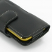 Samsung Galaxy Beam Leather Holster Case (Black) protective carrying case by PDair