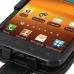 Samsung Galaxy S2 Epic Leather Flip Case (Orange Stitch) genuine leather case by PDair
