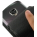 Samsung Droid Charge Leather Flip Case (Black) genuine leather case by PDair
