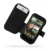 Samsung Fascinate Galaxy S Leather Flip Cover (Black) offers worldwide free shipping by PDair