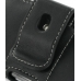 Samsung Soul G400 Leather Holster Case (Black) protective carrying case by PDair