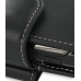 Samsung Soul G400 Leather Holster Case (Black) handmade leather case by PDair