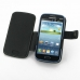 Samsung Galaxy Core Duos Leather Flip Cover top quality leather case by PDair