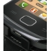 Samsung Galaxy Gio Leather Flip Case (Black) genuine leather case by PDair