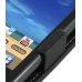 Samsung Galaxy Gio Leather Flip Case (Black) top quality leather case by PDair