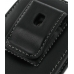 Samsung Galaxy Gio Pouch Case with Belt Clip (Black) protective carrying case by PDair