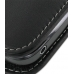 Samsung Galaxy Gio Leather Sleeve Pouch Case (Black) protective carrying case by PDair