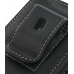 Samsung i5700 Galaxy Spica Pouch Case with Belt Clip (Black) protective carrying case by PDair