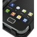 Samsung Galaxy Ace Leather Flip Cover top quality leather case by PDair