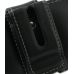Samsung Galaxy W Leather Holster Case (Black) protective carrying case by PDair