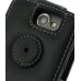 Samsung Galaxy W Leather Flip Top Case (Black) protective carrying case by PDair