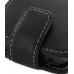 Samsung Galaxy W Leather Flip Top Case (Black) handmade leather case by PDair
