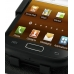Samsung Galaxy W Leather Flip Top Case (Black) genuine leather case by PDair