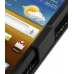 Samsung Galaxy W Leather Flip Top Case (Black) top quality leather case by PDair