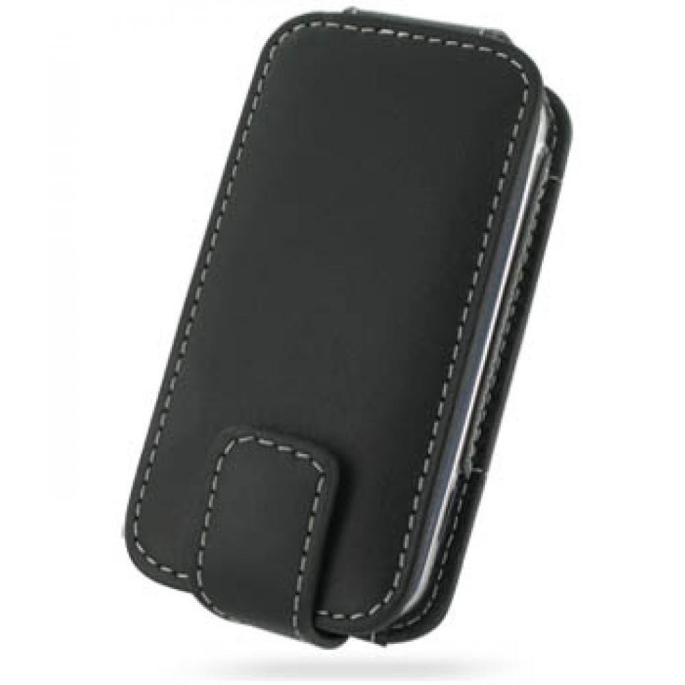 Samsung Glyde U940 Leather Flip Case (Black) :: PDair ... Samsung Glyde Cases