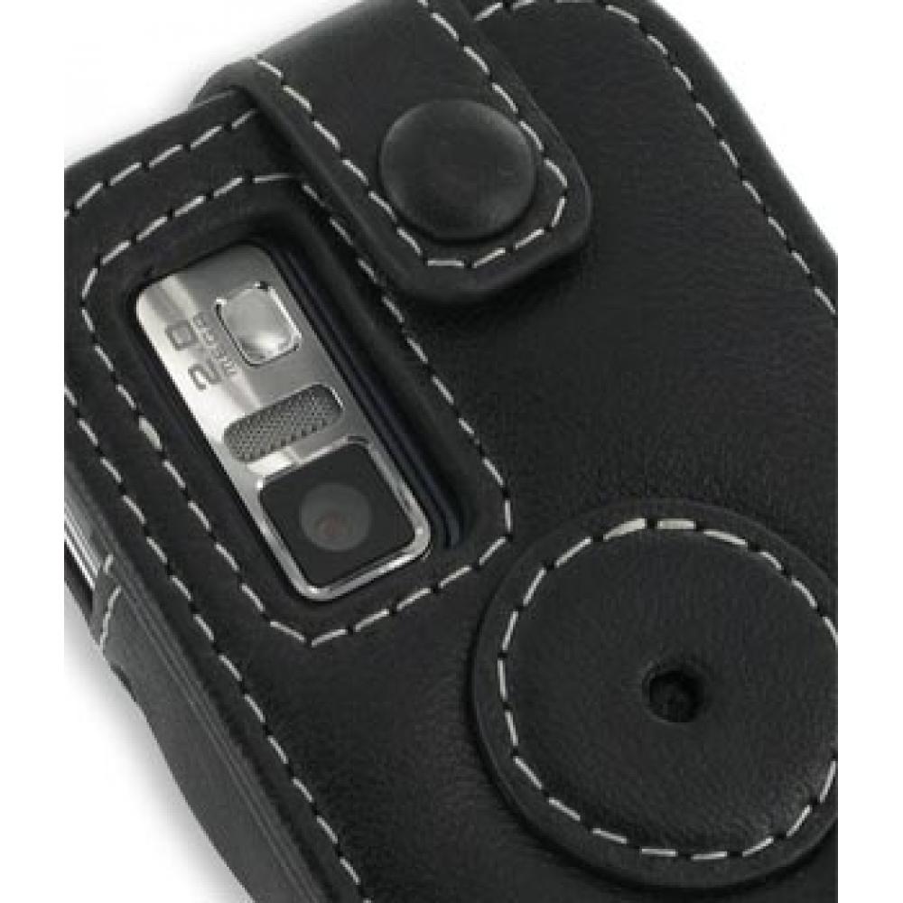 Samsung Glyde U940 Leather Sleeve Case (Black) :: PDair ... Samsung Glyde Cases