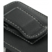 Samsung Blackjack II SGH-i617 Pouch Case with Belt Clip (Black) protective carrying case by PDair