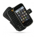 Samsung Intercept M910 Leather Flip Cover (Black) top quality leather case by PDair