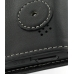 Samsung Blackjack SGH-i607 Leather Flip Case (Black) protective carrying case by PDair