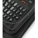 Samsung Blackjack SGH-i607 Leather Flip Case (Black) handmade leather case by PDair