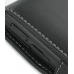 Samsung Blackjack SGH-i607 with Ext Bat Luxury Leather Flip Case (Black) protective carrying case by PDair
