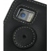 Samsung i8000 Omnia II Leather Flip Cover (Black) protective carrying case by PDair
