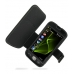 Samsung i8000 Omnia II Leather Flip Cover (Black) offers worldwide free shipping by PDair