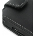 Samsung i8000 Omnia II Leather Flip Case (Black) genuine leather case by PDair
