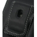 Samsung i8000 Omnia II Pouch Case with Belt Clip (Black) protective carrying case by PDair