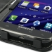 Samsung Galaxy S2 Skyrocket Leather Flip Cover genuine leather case by PDair