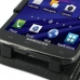 Samsung Galaxy S2 Skyrocket Leather Flip Top Case genuine leather case by PDair