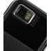 Samsung S8000 Jet Leather Flip Case (Black) genuine leather case by PDair