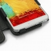Samsung Galaxy Note 3 Leather Flip Cover genuine leather case by PDair