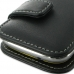 Samsung Galaxy mini 2 Leather Flip Cover (Black) handmade leather case by PDair