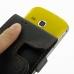 Samsung Galaxy mini 2 Leather Flip Case (Orange Stitch) handmade leather case by PDair