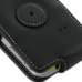 Samsung Galaxy mini 2 Leather Flip Case (Black) protective carrying case by PDair