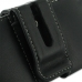 Samsung Galaxy mini 2 Leather Holster Case (Black) protective carrying case by PDair