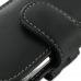 Samsung Galaxy mini 2 Leather Holster Case (Black) genuine leather case by PDair