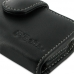 Samsung Galaxy mini 2 Leather Holster Case (Black) top quality leather case by PDair