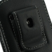 Samsung Galaxy mini 2 Pouch Case with Belt Clip (Black) protective carrying case by PDair