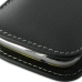 Samsung Galaxy mini 2 Leather Sleeve Pouch Case (Black) protective carrying case by PDair