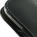 Samsung Galaxy mini 2 Leather Sleeve Pouch Case (Black) handmade leather case by PDair