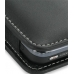 Samsung Instinct M800 Pouch Case with Belt Clip (Black) top quality leather case by PDair