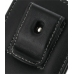 Samsung Galaxy Mini Pouch Case with Belt Clip (Black) protective carrying case by PDair