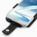 Samsung Galaxy Note 2 Leather Flip Case genuine leather case by PDair
