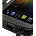Samsung Galaxy Nexus Leather Flip Cover handmade leather case by PDair