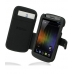 Samsung Galaxy Nexus Leather Flip Cover custom degsined carrying case by PDair