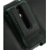 Samsung Galaxy Nexus Leather Holster Case (Green Stitch) protective carrying case by PDair